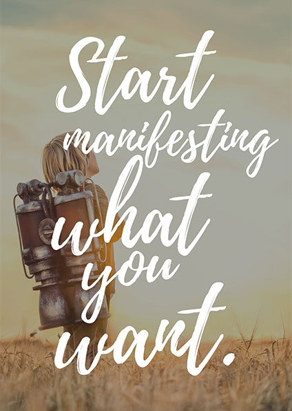 Nadia Themis - Start manifesting what you want